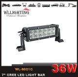 36Wクリー族7inch LED作業ライト12LEDsオフロードライトバー