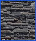 Revêtement en pierre, pierre de revêtement, pierre concrète, pierre artificielle, pierre manufacturée (ATA-10)