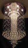 Phineのホームまたはホテルのための水晶が付いている大きい天井ランプ