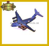 Pinos de metal duros do avião do esmalte, Pin de colar (JINJU16-013)