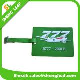 Etiqueta de goma del equipaje del PVC de la historieta para el recuerdo del recorrido (SL-LT004)