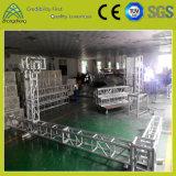 Fascio di alluminio del quadrato di illuminazione dello zipolo di prestazione del partito di mostra