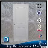 Puerta de seguridad de metal entrada de Estados Unidos Estilo de madera borde de acero