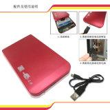 Caso de HDD do USB 2.0 a 2.5 até 1tb