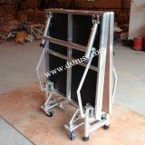 Qualitäts-bewegliches Stadiums-Aluminiumlegierung-faltendes Stadium