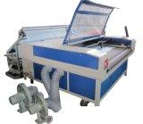A máquina de estaca de alimentação automática do laser da série adota o software inteligente esperto da disposição, apropriado para indústrias computarizadas da estaca do bordado