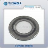 Het standaard Spiraalvormige Type van Ringen van de Pakkingen van de Wond Binnen en Buiten
