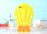 iPhone de goma suave no tóxico avanzado personalidad 6/6s del Seashell del diseño más caso