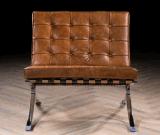 高品質型の革バルセロナの椅子