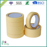 Mittlere Temperatur 100 Grad-Krepp-Papier-selbsthaftendes Kreppband