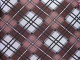 tessuto classico del poliestere di stampa di griglie di 600d Oxford con il PVC