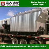 Dzh4-1.25-T 4ton/Hr 플라스틱 제조업 공장을%s 석탄에 의하여 발사되는 증기 보일러