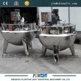 PVC del acero inoxidable de 400 galones, pigmento que cocina el crisol