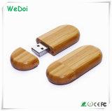 Movimentação de madeira de venda quente da pena do USB com garantia de 1 ano (WY-W18)