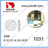 Roud e Square Flat Back Glass Mirror Beads Stones