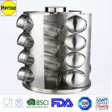 Cremagliera di spezia impostata vasi stabiliti rotativi del pilone della spezia della spezia del Cruet