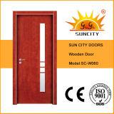 Novo chega a porta de madeira interior do melhor preço (SC-W060)