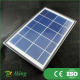 5W Poly Solar Panel con Plastic Frame