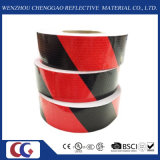 "2 "" adentro. X 150 ' pies Honeycomb Black/Red Double Colors Reflective Tape (C3500-S)"