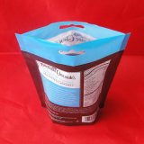 Le blocage comique de empaquetage de fermeture éclair de catégorie comestible de poche de clinquant de sac de sucre met en sac Ms-Lp040