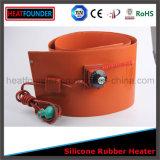 Chaufferette industrielle personnalisée de garniture en caoutchouc de silicones