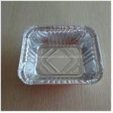 خطّ [ألومينوم فويل] وعاء صندوق مع غطاء