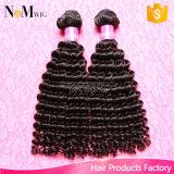 Tecelagem natural do cabelo do Virgin humano peruano
