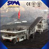 Broyeur utilisé mobile de Sbm, broyeur mobile utilisé