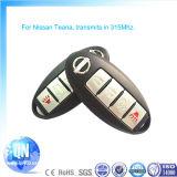 Ключ автомобиля для ключей Qn-RF402X Nissan Teana Locksmith ключевых франтовских