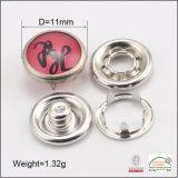 Botón del broche de presión del anillo del sujetador rápido del diente del casquillo de la perla para el desgaste de los cabritos del bebé