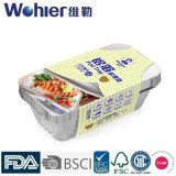Package를 위한 가구 High Quality Rectangular Aluminum Foil Tray 또는 Aluminum Foil Food Container