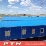 HOME do recipiente do bloco liso para o projeto do acampamento da mineração em Kazakhstan