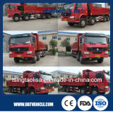 Caminhão de descarga de Sinotruk HOWO 8X4 371HP/caminhão de Tipper