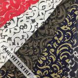 Tissu en nylon de lacet de qualité pour la robe de dames