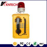 Sicherheit SIP-Wechselsprechanlage für industrielle Kommunikations-wasserdichtes Telefon Knsp-09