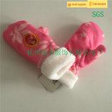 高品質の美しく安いニットの専門の手袋の子供の工場