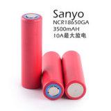18650ga grote lithium-IonenBatterij 18650 Navulbare Batterij 3.7V 3500mAh van de Capaciteit