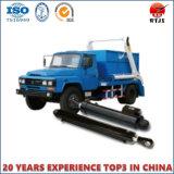 Acción doble cilindro hidráulico para Camión de la basura