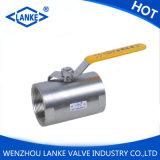 valvola a sfera del filetto dell'acciaio inossidabile 1PC (Q11F)