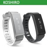Bracelet de montre intelligent de traqueur de forme physique d'activité de Bluetooth