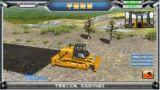 Simulador de Training&Examination da escavadora da esteira rolante