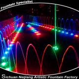 Lâmpadas subaquáticas do aço inoxidável do diodo emissor de luz para a associação. Fonte
