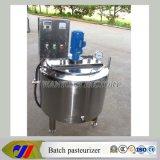 200L 혼합 탱크 신선한 우유 배치 저온 살균을 행하는 기계