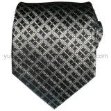 Cravate du jacquard tissée par soie des hommes personnalisés