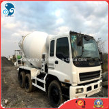 Nuovo-Battery-Attached Max-9m3-Drum 10PE1-Enigne-Strong-Power Isuzu Concreto-Mixer-Truck