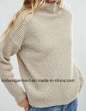 Повелительница Слишком большой Хлопок Sweatershirt путем конструкция (W17-815)