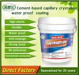 Type cristallin capillaire Colle-Basé enduit imperméable à l'eau