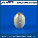 卵の形のプラスチックPEの缶