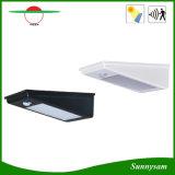 屋外の照明は24のLED 400lmの無線太陽エネルギーPIRの動きセンサーの庭の機密保護ランプ屋外ライトを防水する
