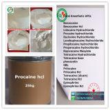 Procaine 59-46-1 van de Drug van het Verdovingsmiddel van de Zuiverheid van 99.5% Lokale